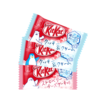 109b19d8824042c069486d030c1ca7d4e9489473 july 2018 cookie and cream strawberry cheesecake japanese kit kats 1