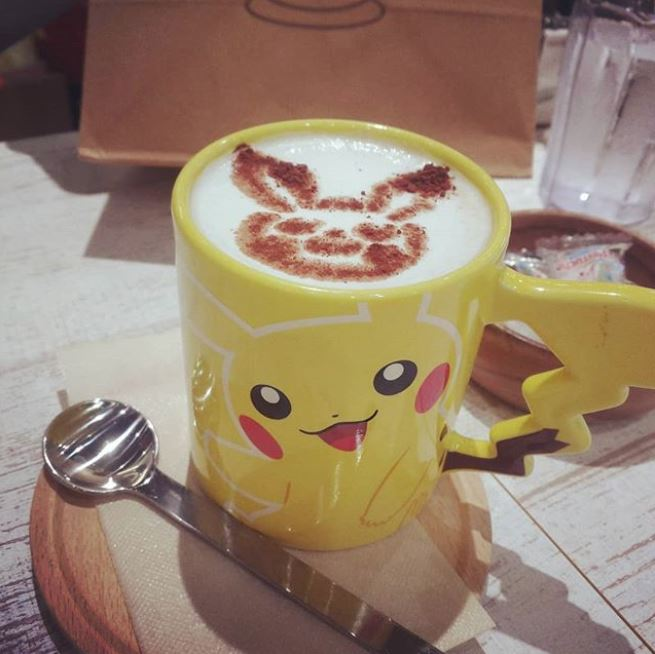 New Japanese Amazing Pokemon FoodTokyotreat Cafe Center The Has eEYW92DHI