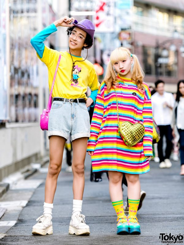 This colorful duo definitely looks kawaii! On the left is Soso ac54c2664bd7