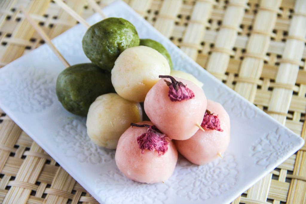 Top 3 websites for japanese recipes try authentic japanese food hanami dango is a japanese snack often served at festivals but you can also buy it at the local supermarket the dango balls taste very similar to mochi but forumfinder Choice Image
