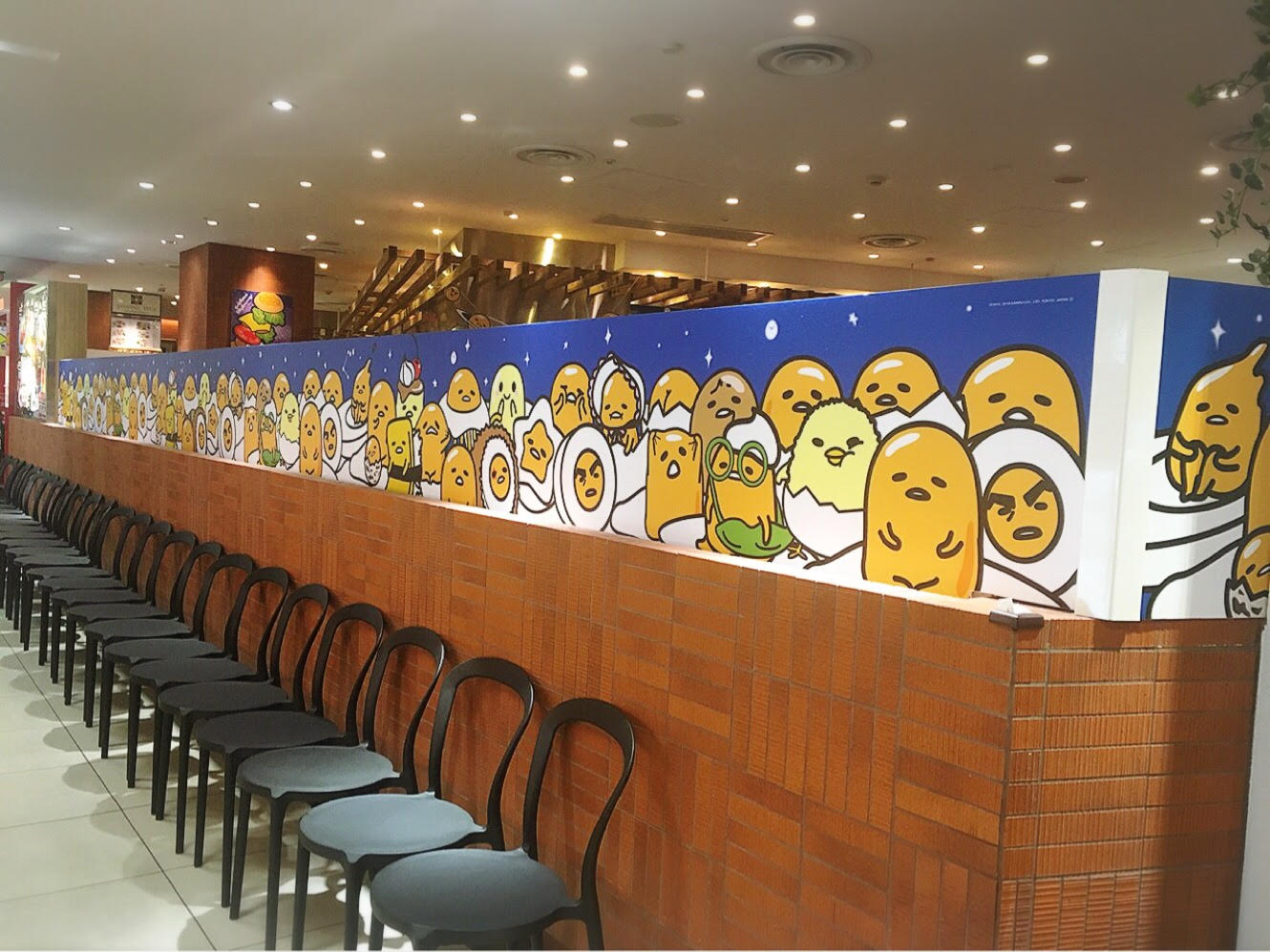 Gudetama 5 Year Anniversary Space Cafe | TokyoTreat: Japanese Candy